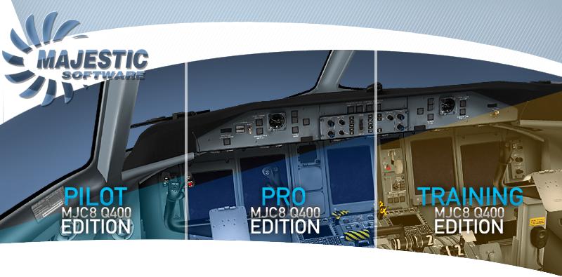 FSX Central: Majestic Software Dash 8 Q400 V1 007 Pilot Edition